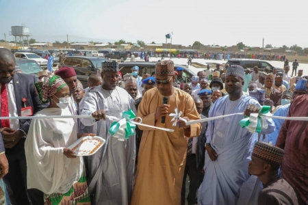 3,000 deprived kids targeted as Zulum unveils 2 mega schools in low-income communities