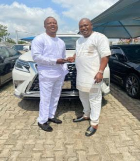 Atorise Gets Lexus 2020 SUV Gift On Birthday